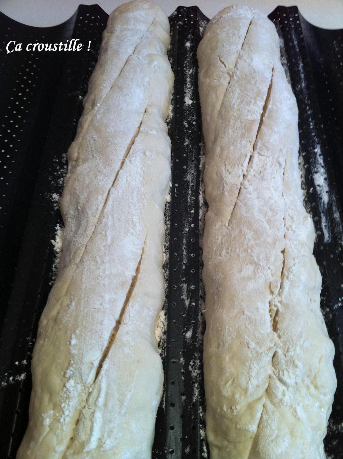 A croustille baguettes de pain comme chez le boulanger - Comment bien decongeler du pain ...