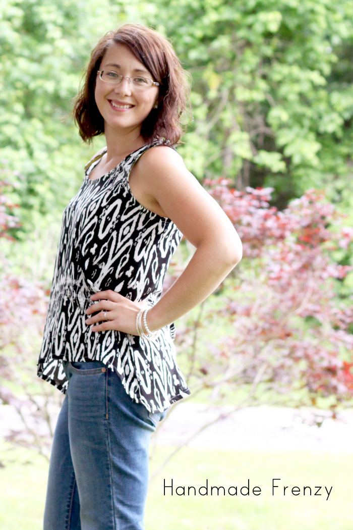 Foxglove Tank - Sewing Pattern by Selvage Designs
