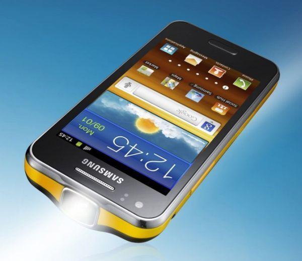 Samsung lança smartphone que projeta imagens de 50  - celular que projeta imagens