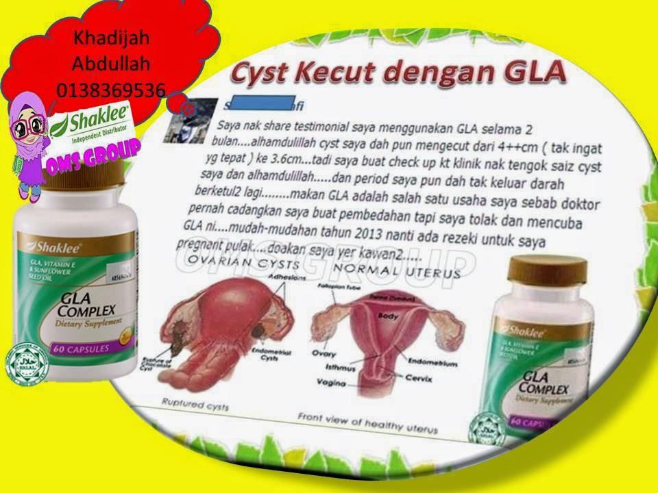 Cyst Ada Bila Makan Gla