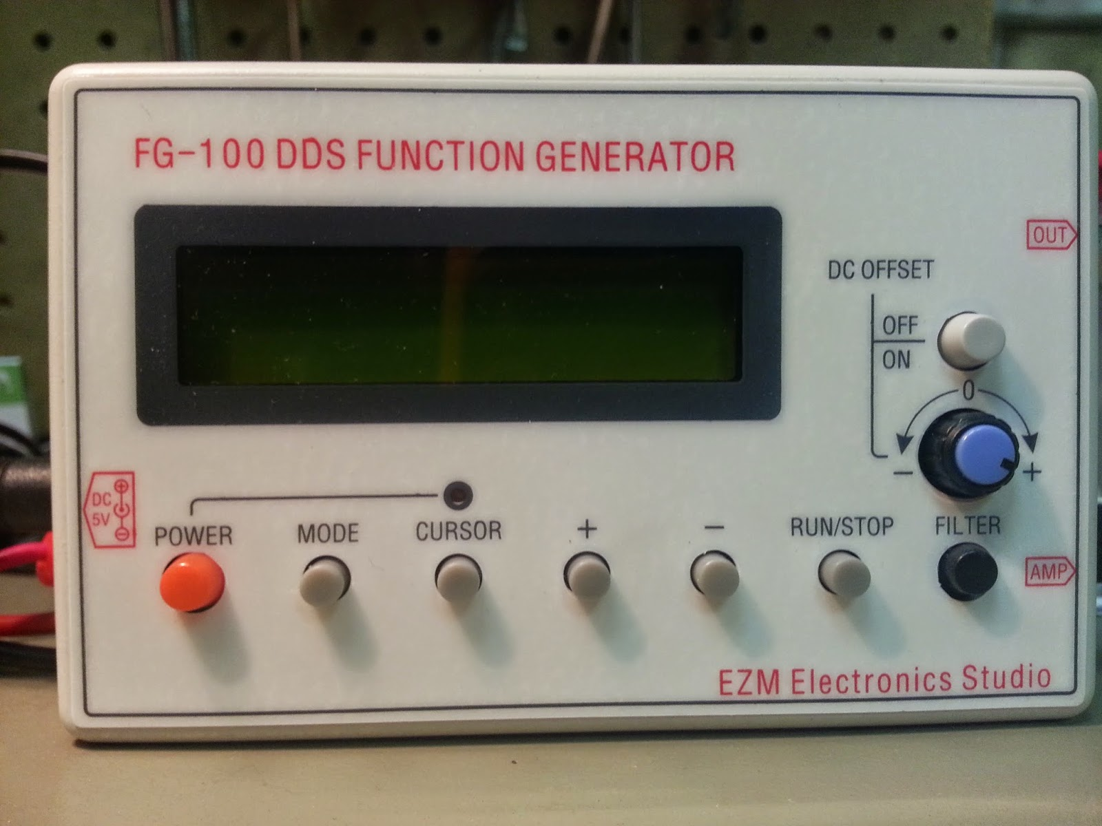 Function Generator And Oscilloscope : Jarret s electronic hobby august