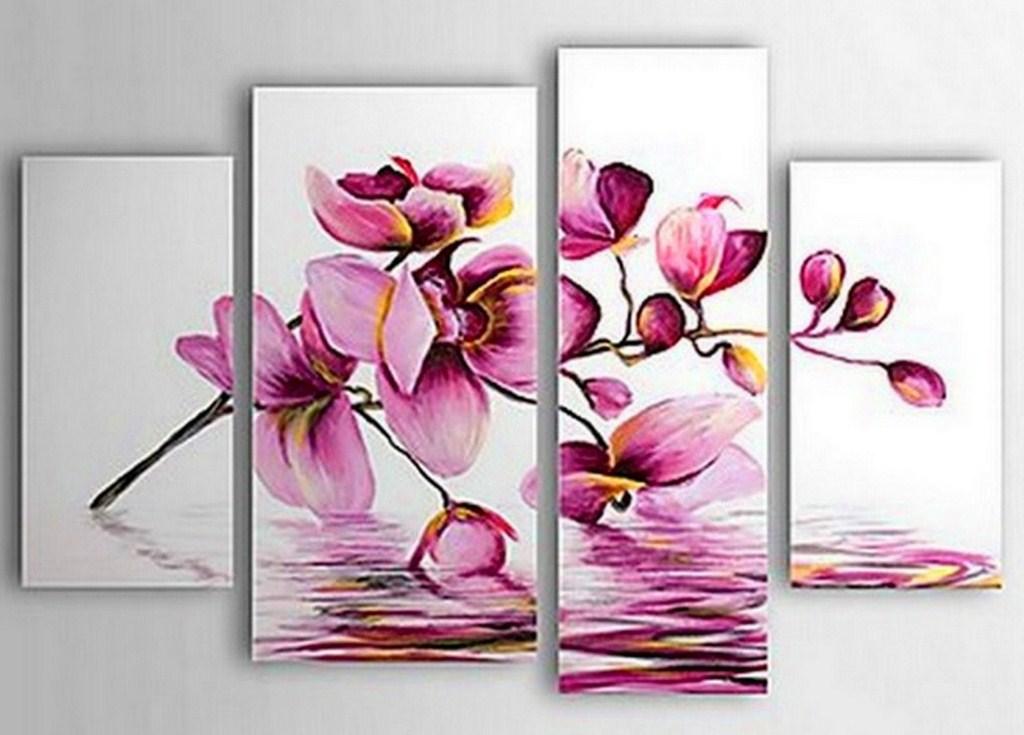 Cuadros pinturas oleos abstracto for Cuadros decorativos minimalistas