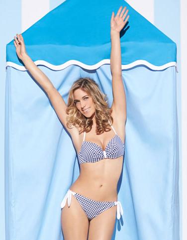 Boux Avenue Corsica gingham bow bikini