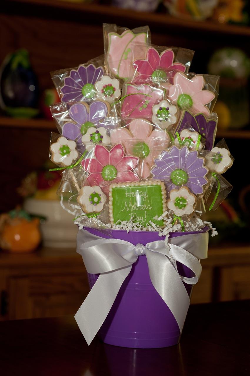 Mother\'s Day Cookie Bouquet | Stir-Crazy Confections