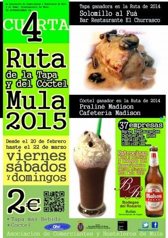 VI Ruta de la Tapa y del Cóctel Mula 2015