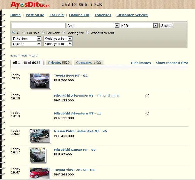 AyosDito Car Sale Philippines