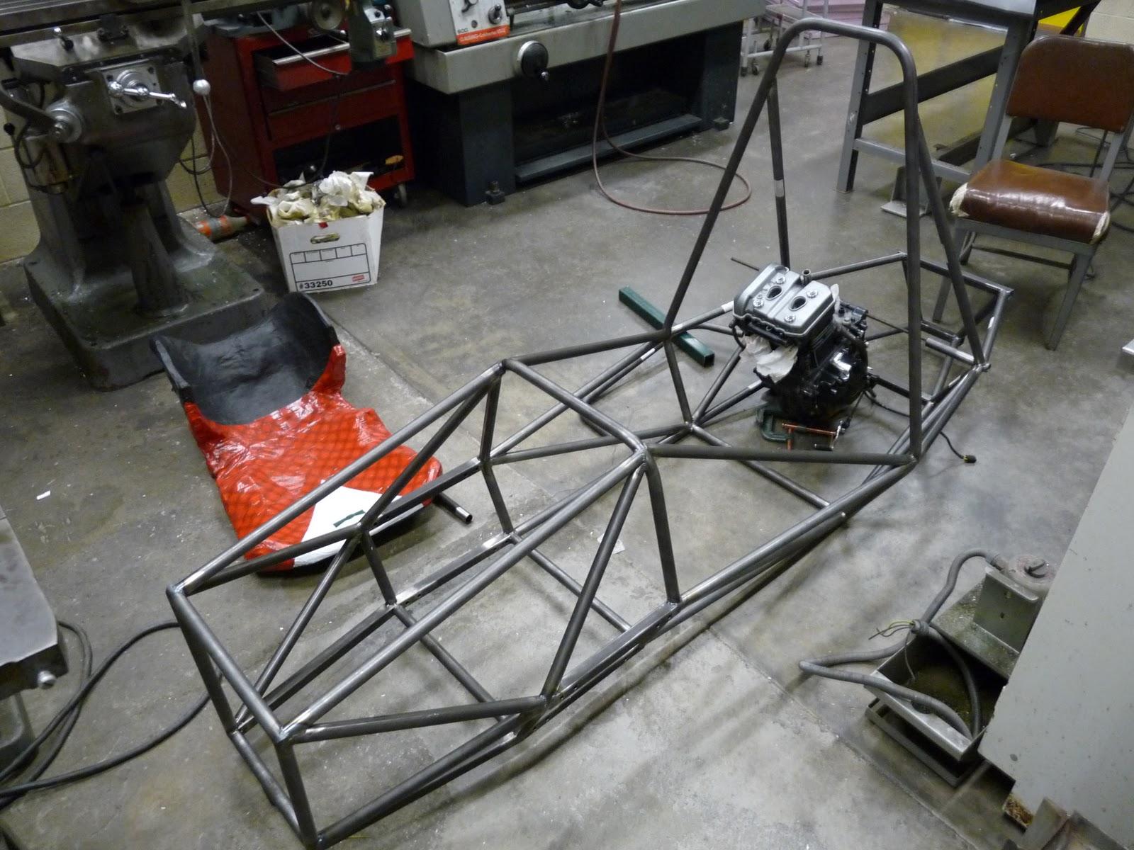 Rensselaer Formula Hybrid Racing More chassis welding