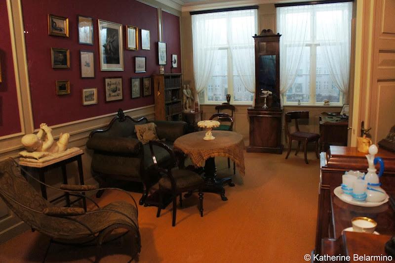 Hans Christian Andersen's Nyhavn Room Odense Denmark