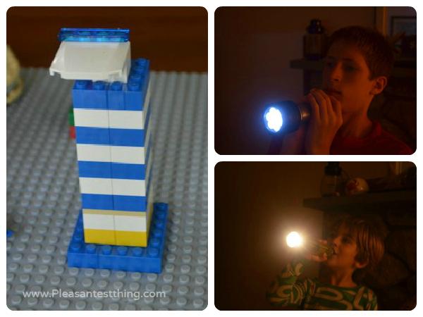 lighthouse lego