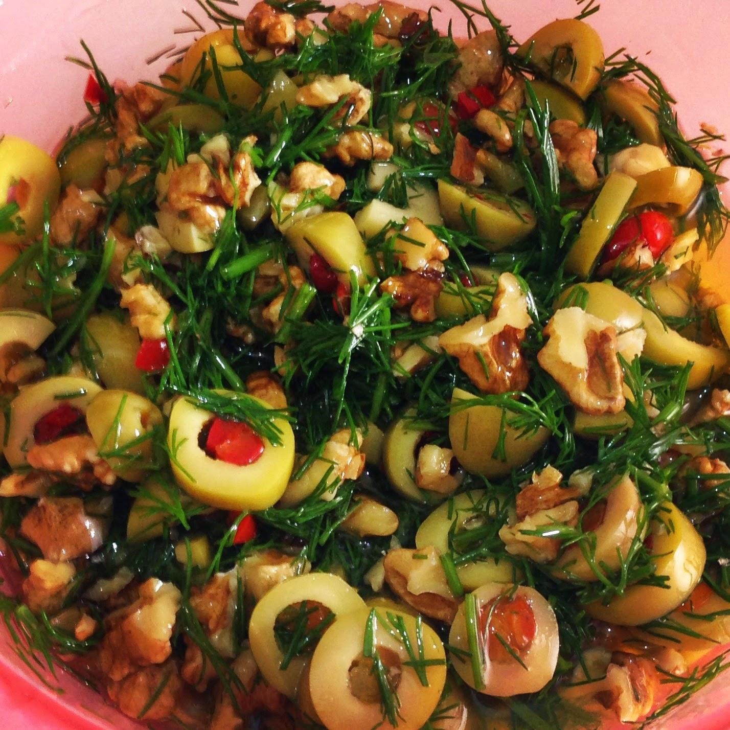 Kahvaltı Salatası (Taze Peynirli Semizotlu)