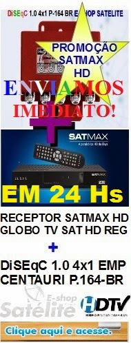E-SHOP SATELITE: CANAIS HD FTA