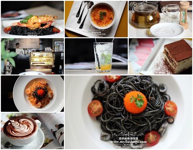 Food : Penang | Dcova 神秘的黑色料理与让人倾心的提拉米苏