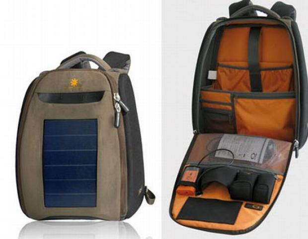 10 models of solar backpacks and bags - 10 modelos de mochil.