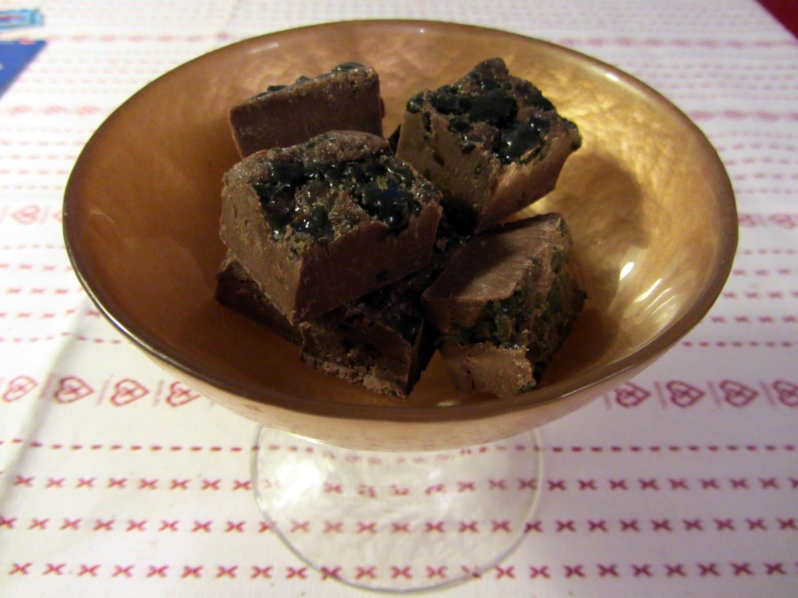 choklad och lakritsfudge