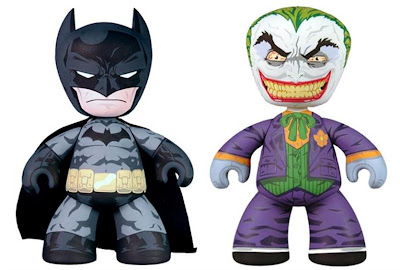 DC Universe Batman & The Joker 6 Inch Mez-Itz Vinyl Figure Set by Mezco Toyz