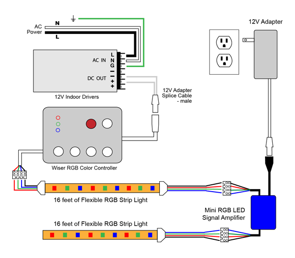 12v Led Wiring Diagram Wiring Diagrams Best