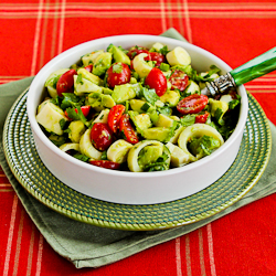 ... Heart of Palm Salad with Tomato, Avocado, and Lime (with or without