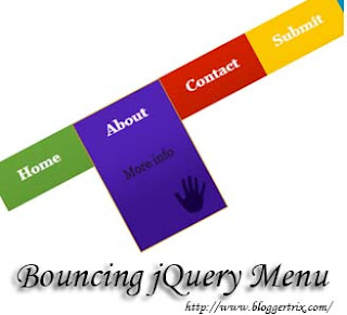 Bouncing+jQuery+Menu+Bar