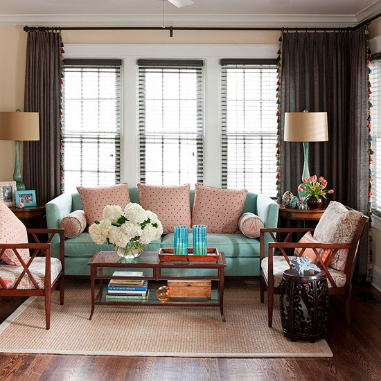 2013 traditional living room decorating ideas from bhg Better homes and gardens living room ideas
