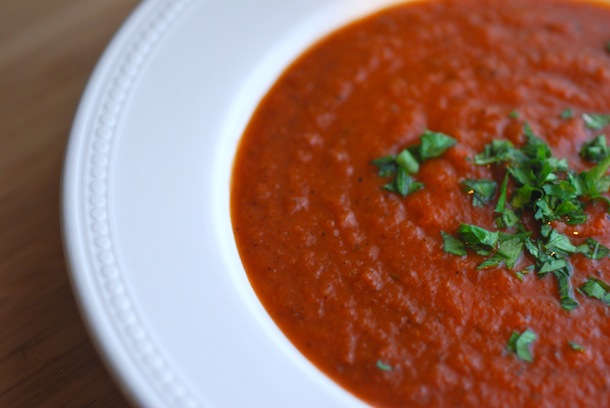 Spicy Roasted Tomato Soup - Always Order Dessert