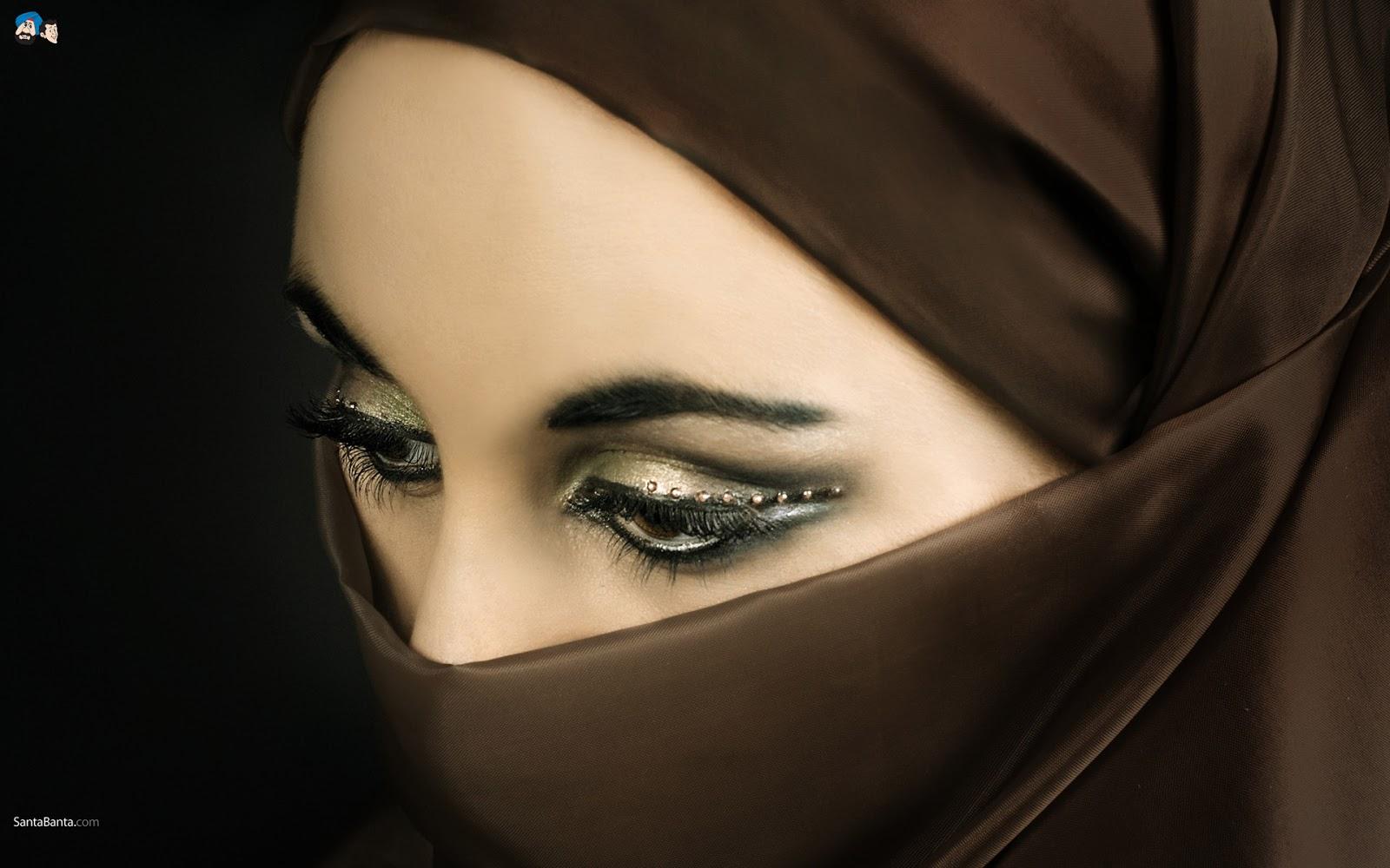 Sebuah Dunia Kecilku Wallpaper Wanita Cantik Muslimah Bercadar