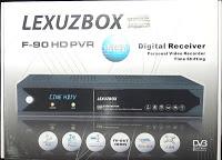 Lexuzbox F90 caixa branca e Clone atualização - 28-05-2013