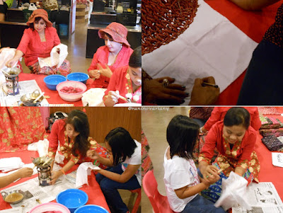 batik workshop dari Ibu kembar HERO Supermarket