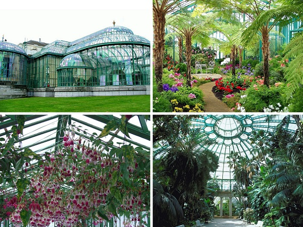 Top 10 Bruxelas: (7) Distrito de Laeken, a casa da família real belga