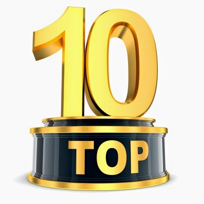 My Top Ten Lists