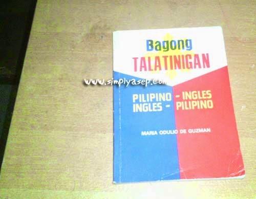Kamus Tagalog - Inggris