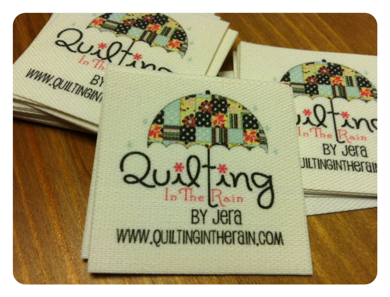 Custom Made Quilt Labels