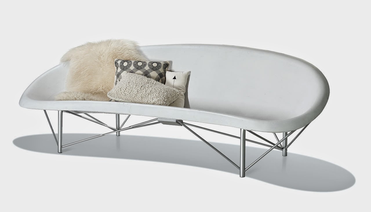 Heated Outdoor furniture Helios by Galanter & Jones