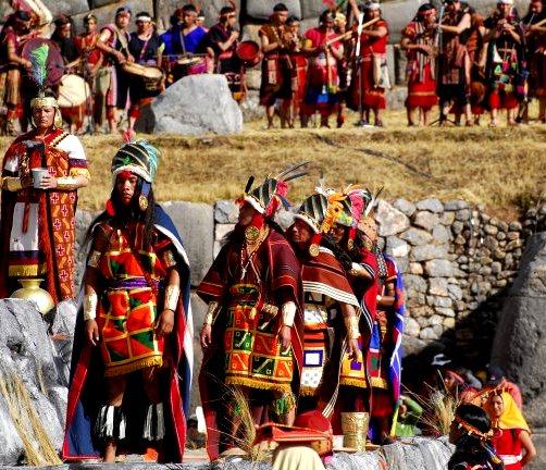 Fiesta del Inti Raymi en foto
