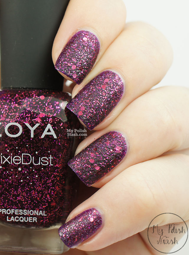My Polish Stash: Zoya Ultra Pixie Dust ~ Noir