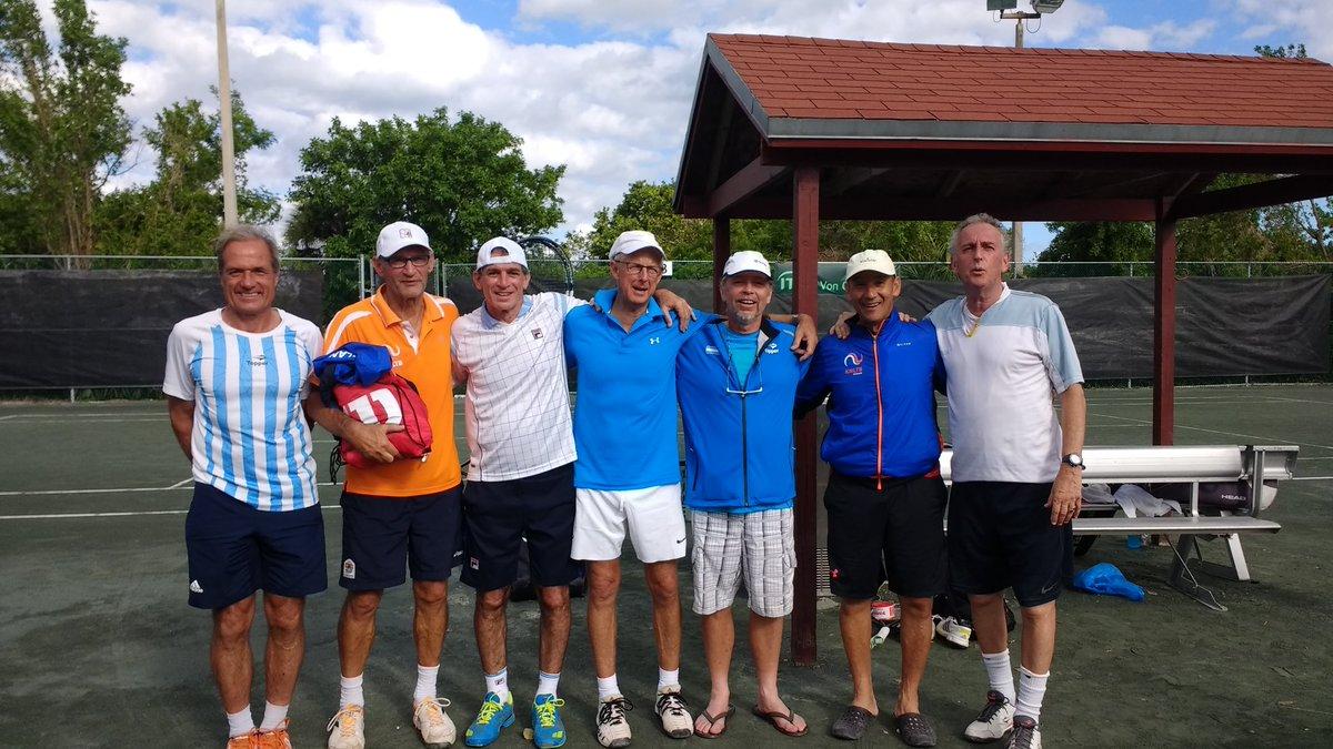 ITF MUNDIAL SENIORS 2017 POR EQUIPOS-ARG CLASIFICADA EN M+50-M+55 y M+60