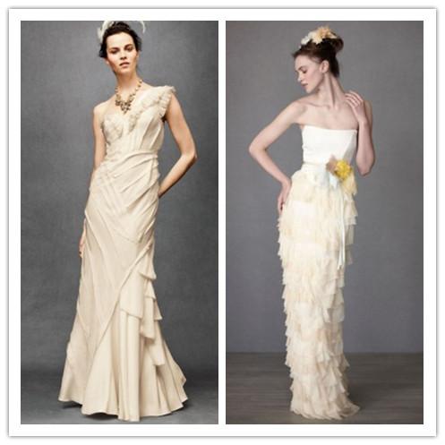 Whiteazalea sheath dresses choosing long sheath wedding for Long dress for wedding reception
