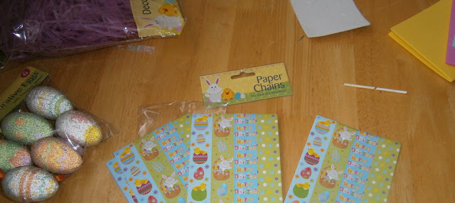 cheap and easy paper chains childrens craft ideas for easter