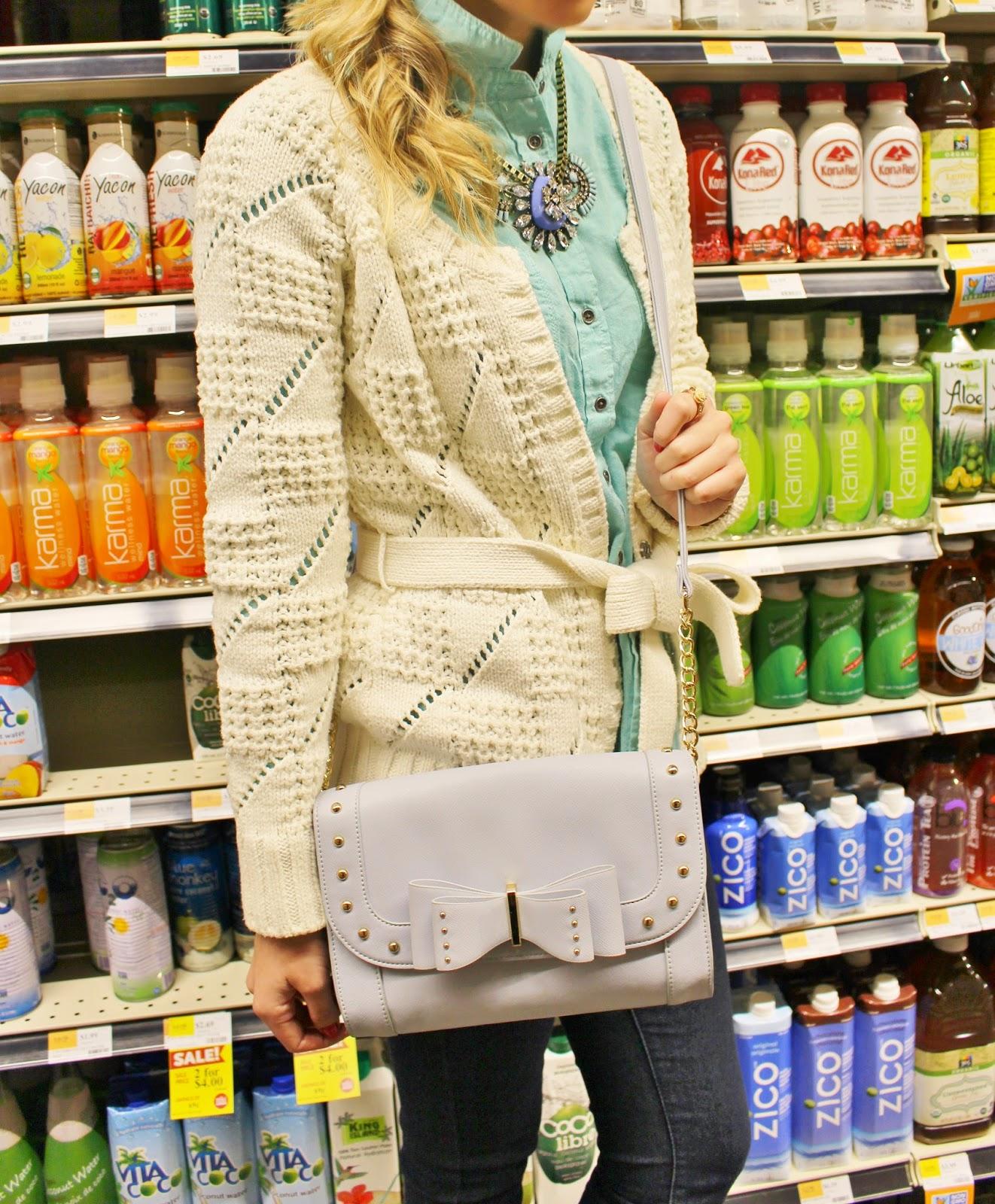 bijuleni, Whole Foods. Calvin Klein, T&J Designs, jewelry, Winners. winnerfabfind, Forever21, Zara,Zara Heels, turquoise blouse