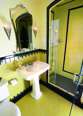 Tenant proof design art deco bathrooms for 1930 s bathroom decor