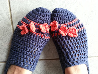 posy toes crochet slippers