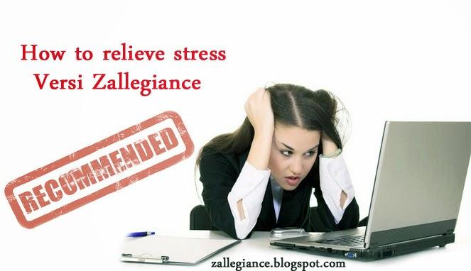Cara Sederhana Menghilangkan Stres