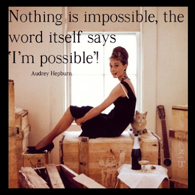 Nothing Is Impossible | www.SpicyPinkInspirations.com