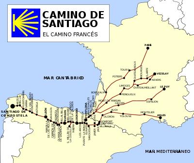 Antes de recorrer el camino de Santiago