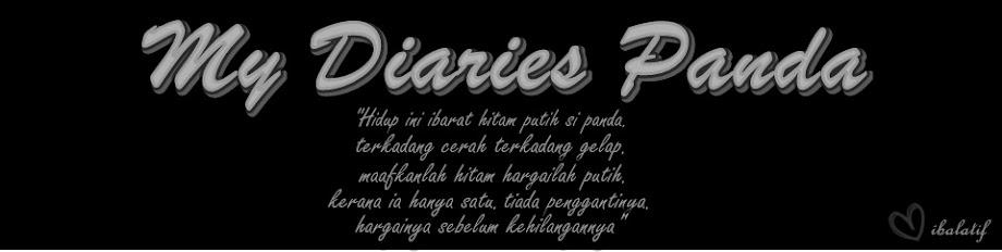 : My Diaries Panda :