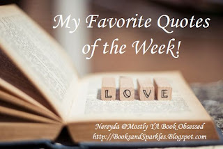 Favorite Quotes of the Week! (5)