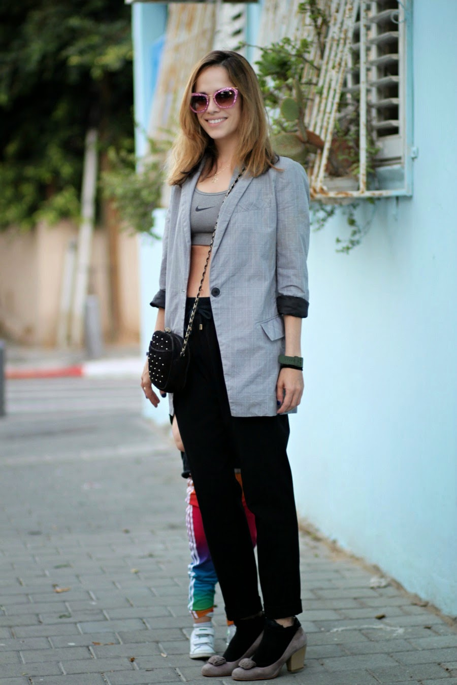 blazer, unbutton, tunmy, lookoftheday, blog, fashionblog, ootd, streetstyle, בלוגאופנה, טלינחשון, אופנה