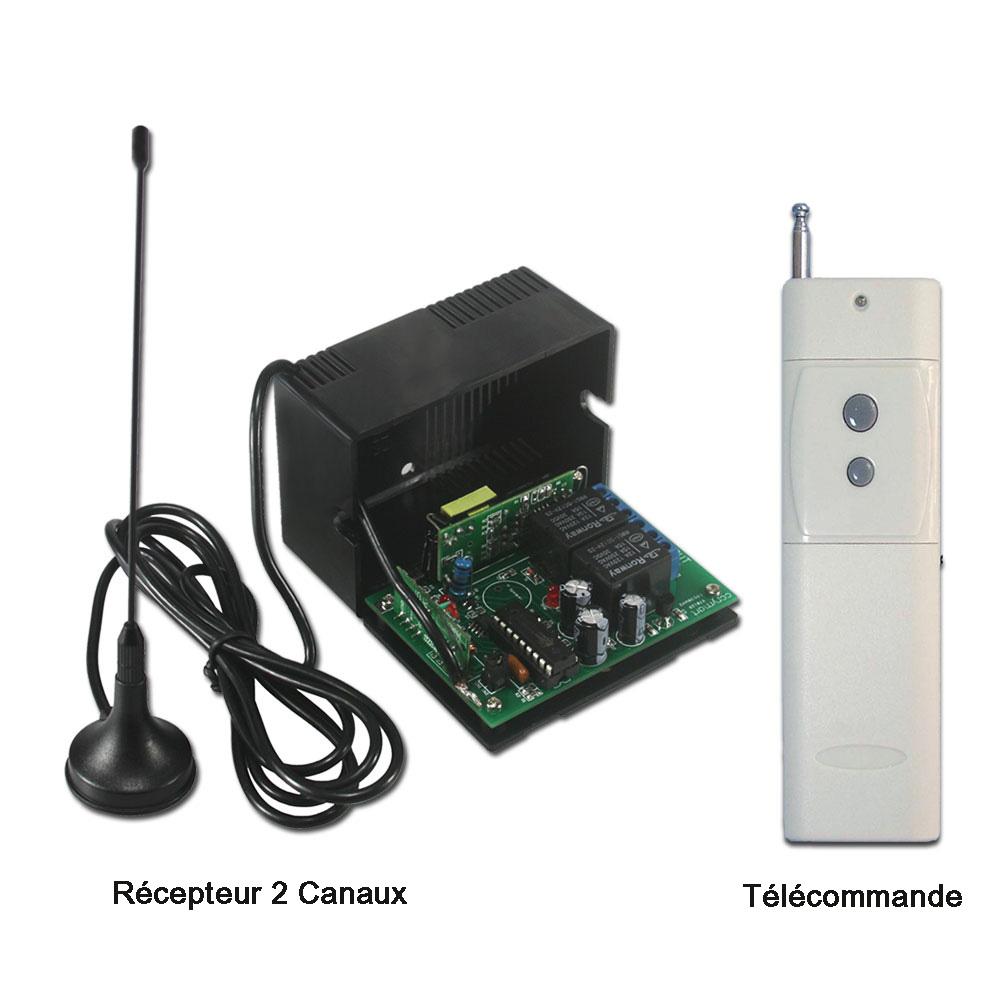 Controle sans fil blogspot comment utiliser kit metteur - Comment ouvrir une porte avec une radio ...