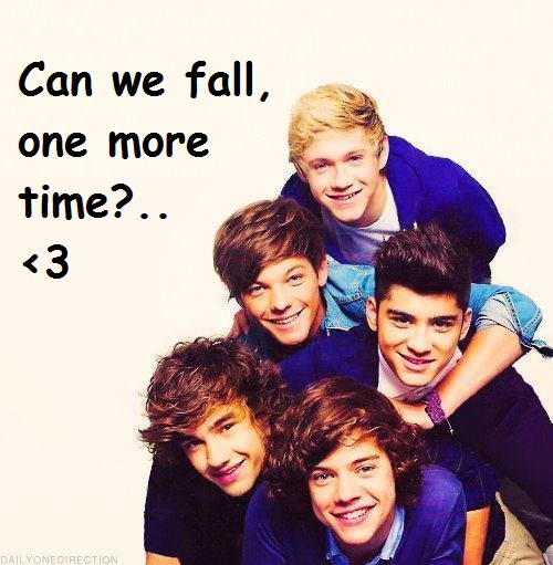 Can we fall, one more time?