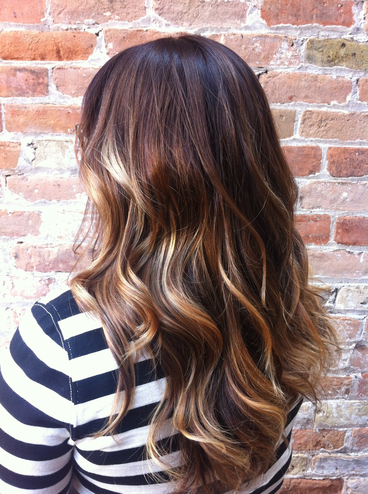 My Clients Love Melted Hair Color And The Moroccan Oil Hairspray