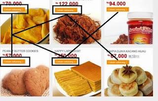 Beli Snack Asli Indonesia ( Makanan Online )